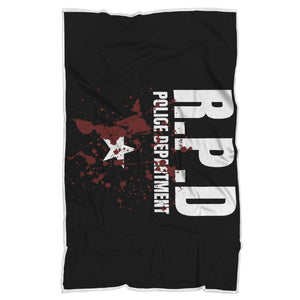 RPD Police Department Blanket