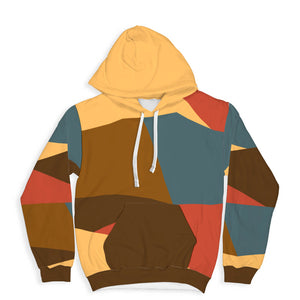 Squares All Over Print Hoodie Squares All Over Print Hoodie