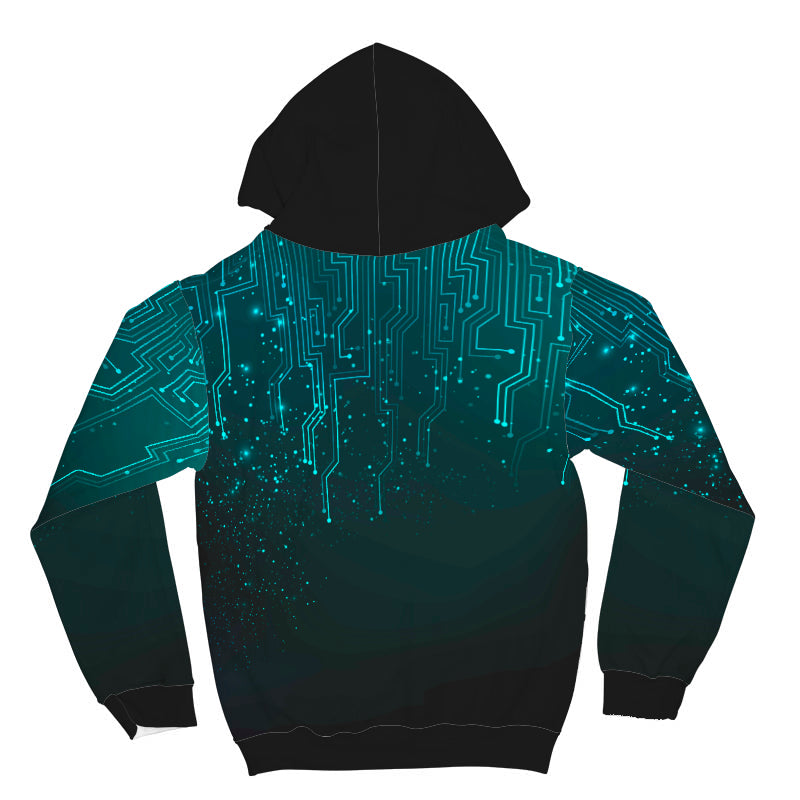 Matrix All Over Print Hoodie