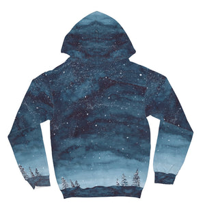 Snow All Over Print Hoodie Snow All Over Print Hoodie
