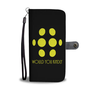Big Daddy - Would You Kindly Phone Wallet Case Big Daddy - Would You Kindly Phone Wallet Case