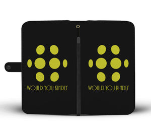 Big Daddy - Would You Kindly Phone Wallet Case Image 1