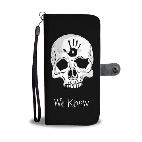 Dark Brotherhood We Know Phone Wallet Case