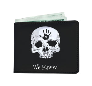 Dark Brotherhood We Know Mens Wallet