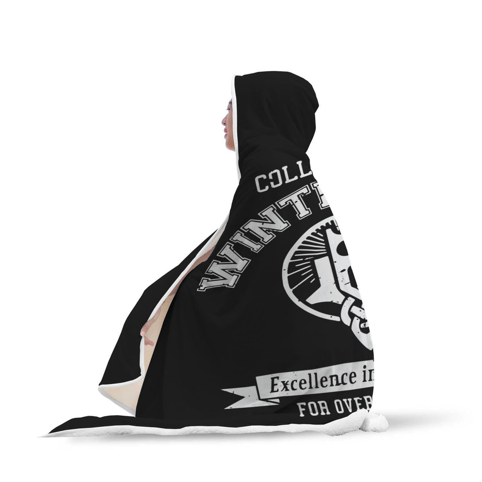 College of Winterhold Hooded Blanket