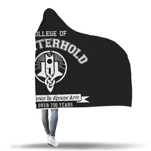 College of Winterhold Hooded Blanket College of Winterhold Hooded Blanket