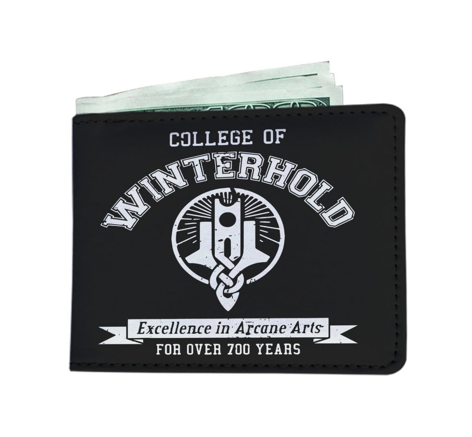 College of Winterhold Mens Wallet