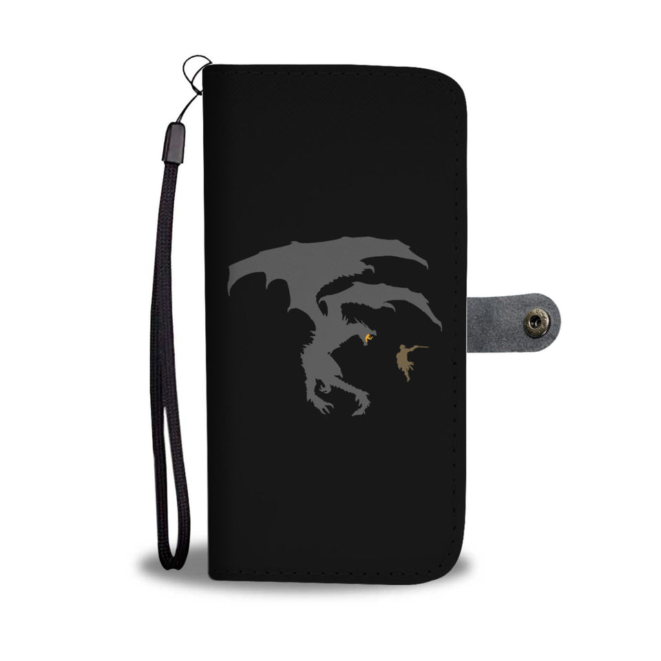 Dragon Fantasy RPG Phone Wallet Case
