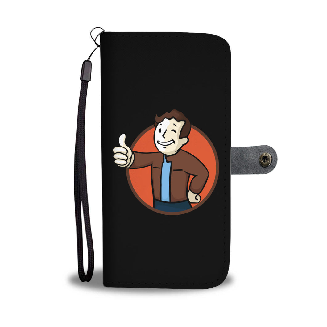 Todd Boy Vault Boy RPG Video Game Phone Wallet Case