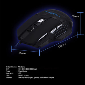 H7 Wired Gaming Mouse 7 Buttons H7 Wired Gaming Mouse 7 Buttons