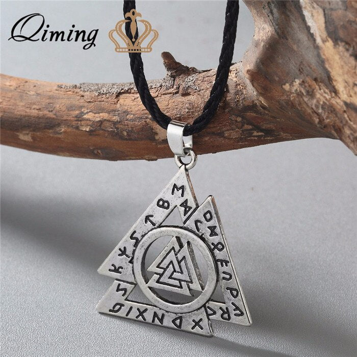 Illuminati Triangle Pendant Necklace