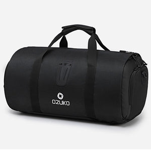 Men's Waterproof Multifunction Travel Duffle Bag mens duffle bag