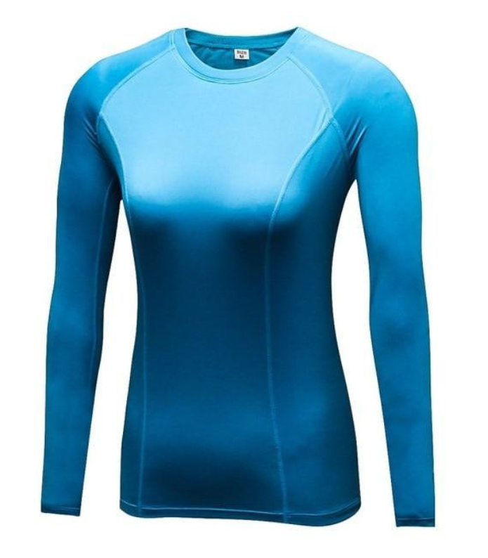 Womens Fitness  Full Sleeve Compression Shirt Top