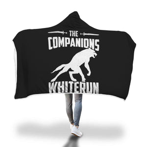 The Companions Whiterun Hooded Blanket The Companions Whiterun Hooded Blanket