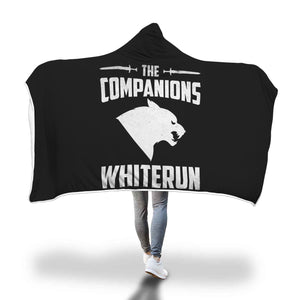 The Companions Whiterun 2 Hooded Blanket The Companions Whiterun 2 Hooded Blanket
