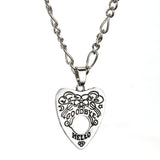 Gothic Ouija Shape Board Pendant Chain Necklace Gothic Ouija Shape Board Pendant Chain Necklace