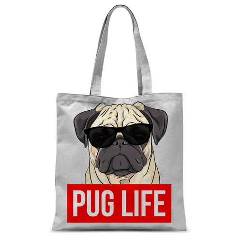 Pug Life - Pug Lover Classic Sublimation Tote Bag