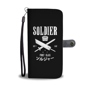 Soldier First Class Wallet Phone Case Soldier First Class Wallet Phone Case