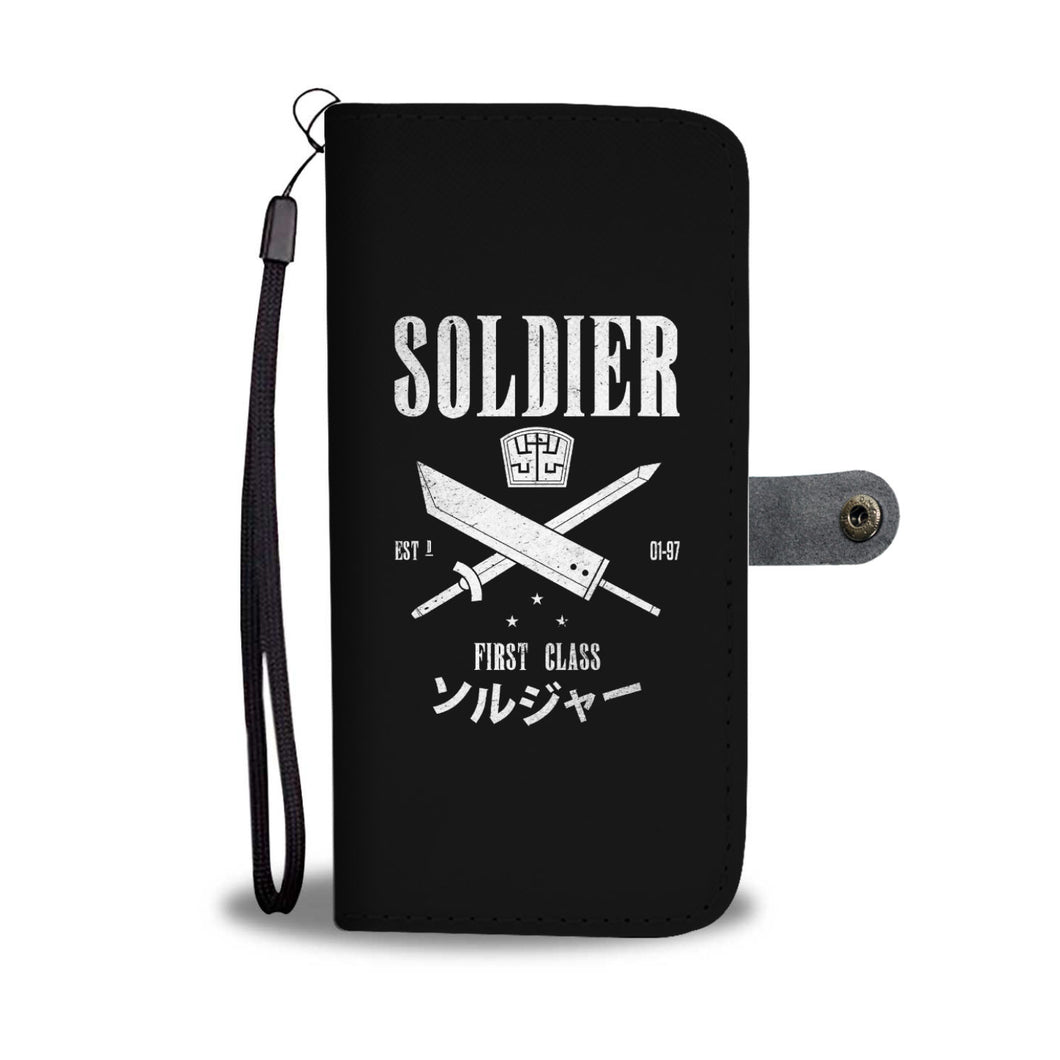 Soldier First Class Wallet Phone Case