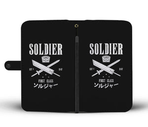 Soldier First Class Wallet Phone Case Image 1