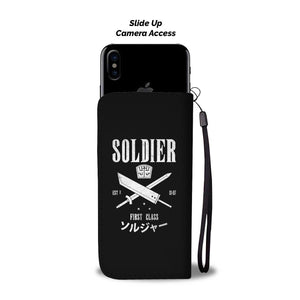 Soldier First Class Wallet Phone Case Image 2