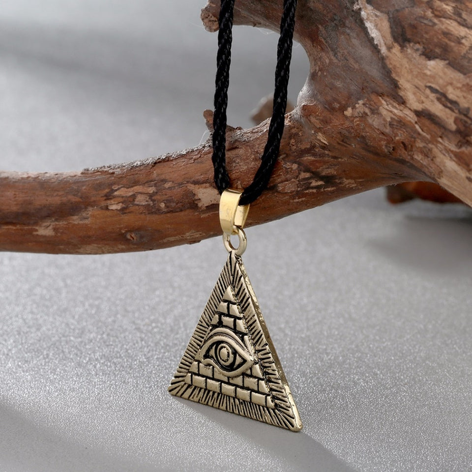 illuminati necklace, illuminati chain, illuminati pendant