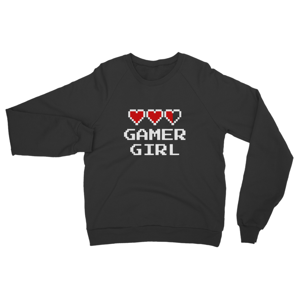 Gamer Girl Video Game Classic Adult Sweatshirt