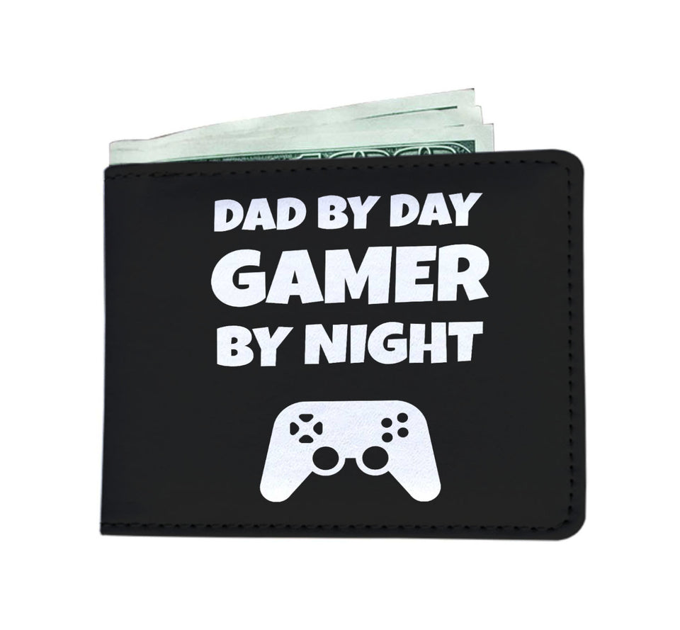Dad By Day Gamer By Night Wallet