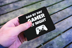 Dad By Day Gamer By Night Wallet Dad By Day Gamer By Night Wallet
