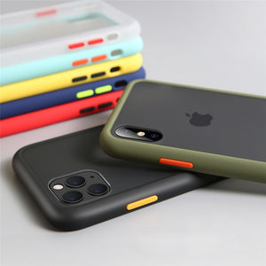 Shockproof Transparent Silicone Phone Case For iPhone iphone case