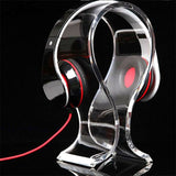 Transparent Acrylic Headphone Stand Holder headphone stand, headset stand, headphone holder, headset holder, gaming headset stand