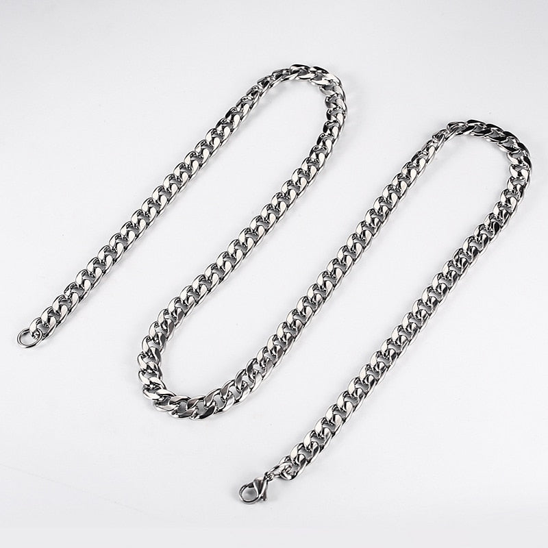 Mens Punk Stainless Steel Necklace