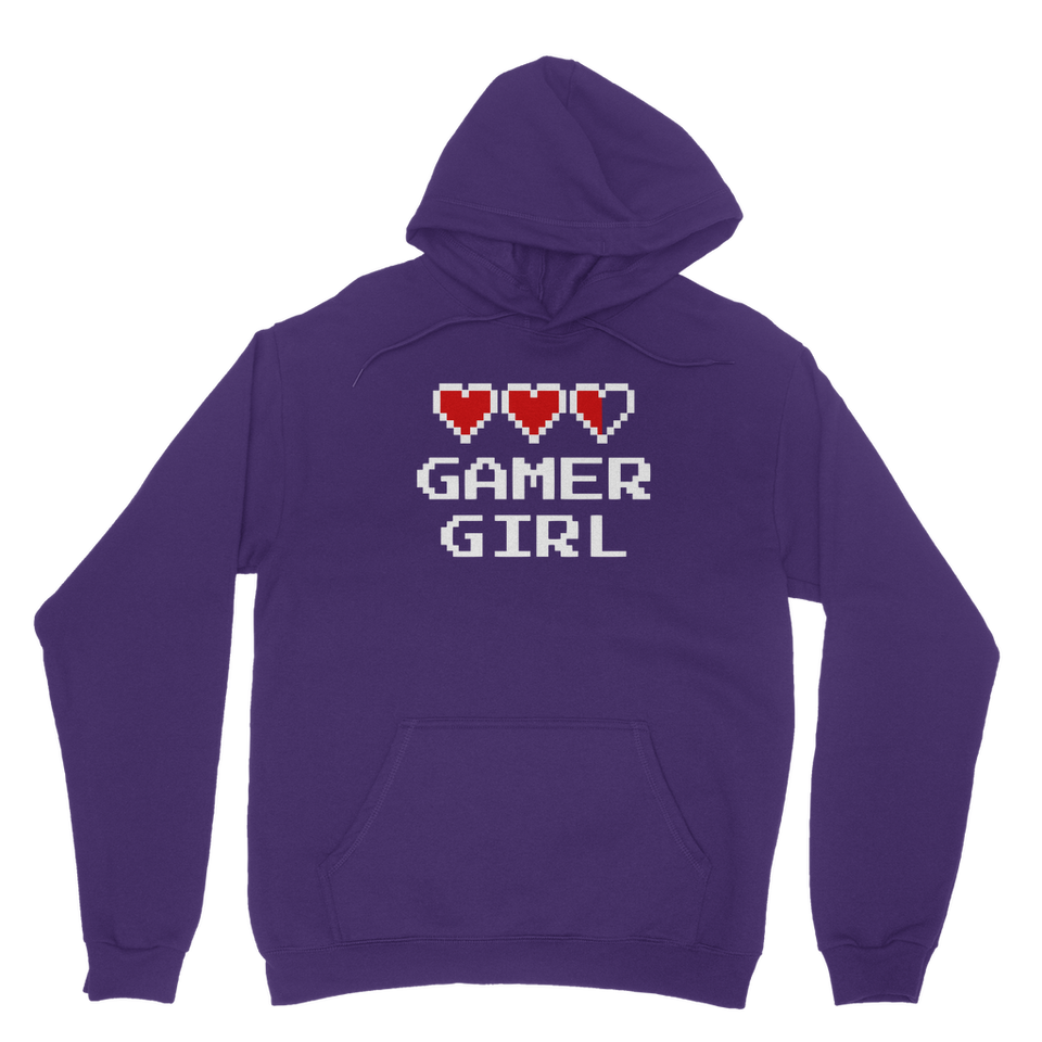 Gamer Girl Video Game Classic Adult Hoodie