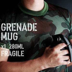 Grenade Coffee Mug With Lid Grenade Coffee Mug With Lid