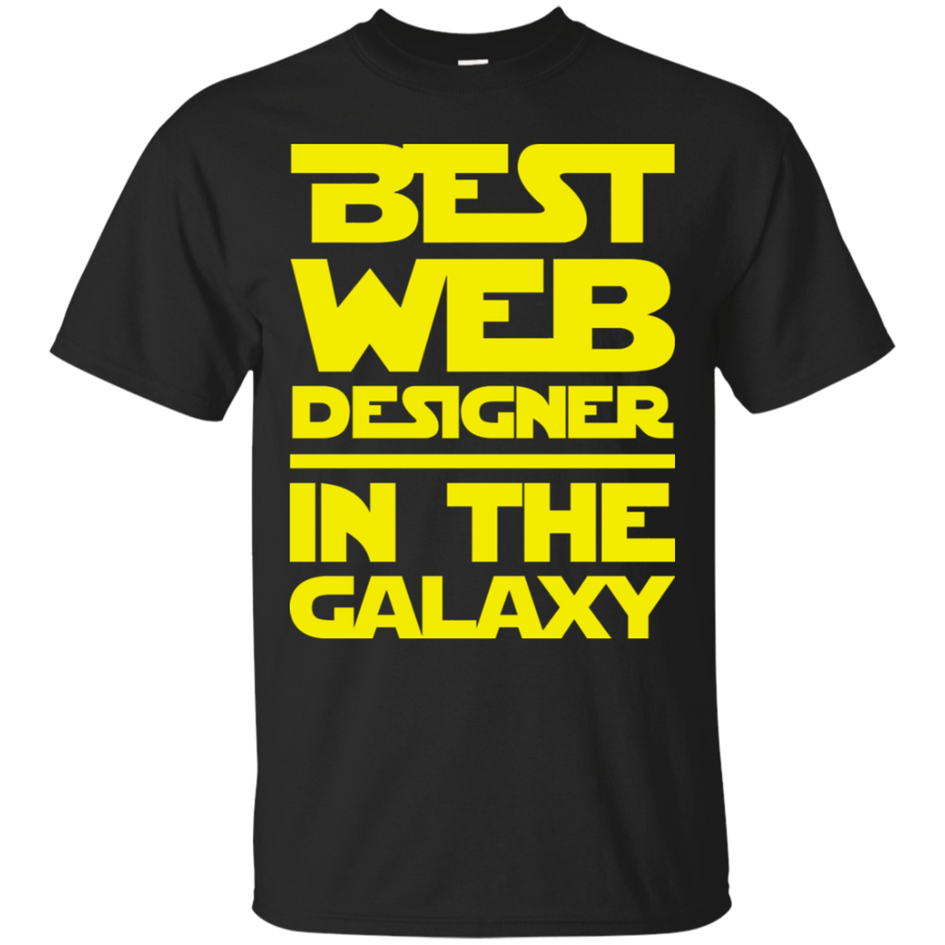 Best Web Designer In The Galaxy Ultra Cotton T-Shirt
