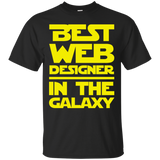 Best Web Designer In The Galaxy Ultra Cotton T-Shirt Best Web Designer In The Galaxy Ultra Cotton T-Shirt