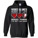 Video Games Ruined My Life - Video Gaming Shirt Video Games Ruined My Life - Video Gaming Shirt