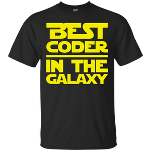Best Coder In The Galaxy Shirt