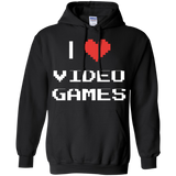 I Love Video Games - Video Gaming Pullover Hoodie 8 oz. I Love Video Games - Video Gaming Pullover Hoodie 8 oz.