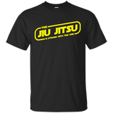 The Jiu Jitsu Is Strong With This One BJJ Brazilian Jiu Jitsu T-Shirt Brazilian Jiu-Jitsu BJJ Brazilian Jiu Jitsu Shirt