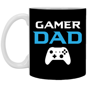 Gamer Dad 11 oz. White Mug Gamer Dad 11 oz. White Mug
