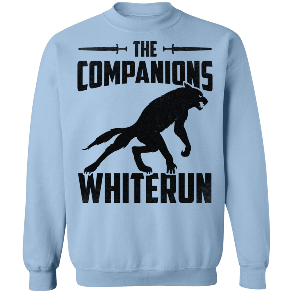 The Companions Whiterun Light Crewneck Pullover Sweatshirt  8 oz