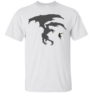 Dragon Fantasy RPG Light T-Shirt Elder Scrolls Skyrim Dragonborn Dragon