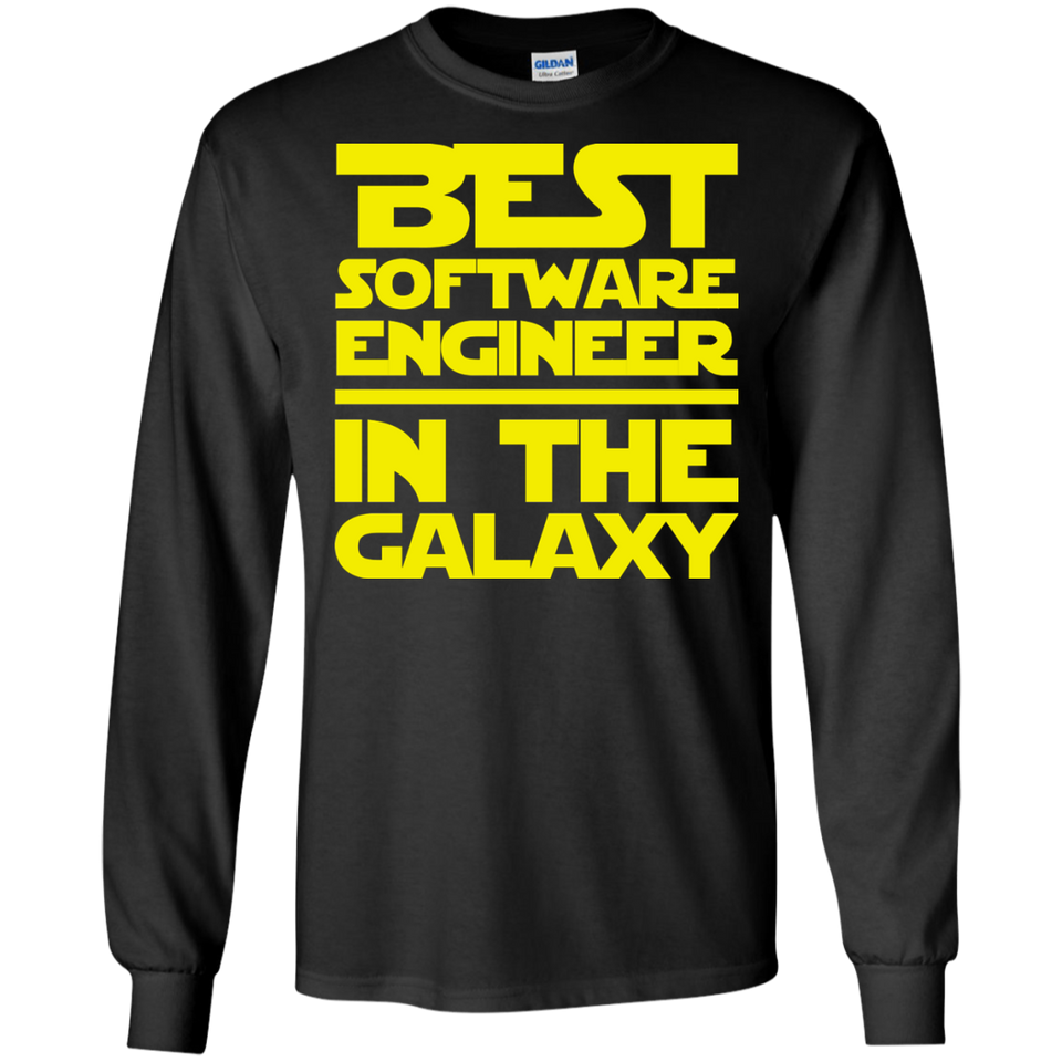 Best Software Engineer In The Galaxy Shirt
