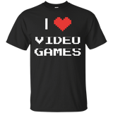I Love Video Games - Video Gaming Shirt I Love Video Games - Video Gaming Shirt