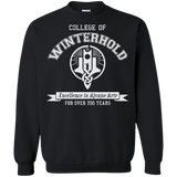 College of Winterhold Crewneck Pullover Sweatshirt  8 oz. Elder Scrolls Skyrim College of Winterhold