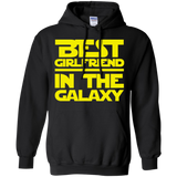 Best Girlfriend In The Galaxy Pullover Hoodie 8 oz. Best Girlfriend In The Galaxy Pullover Hoodie 8 oz.