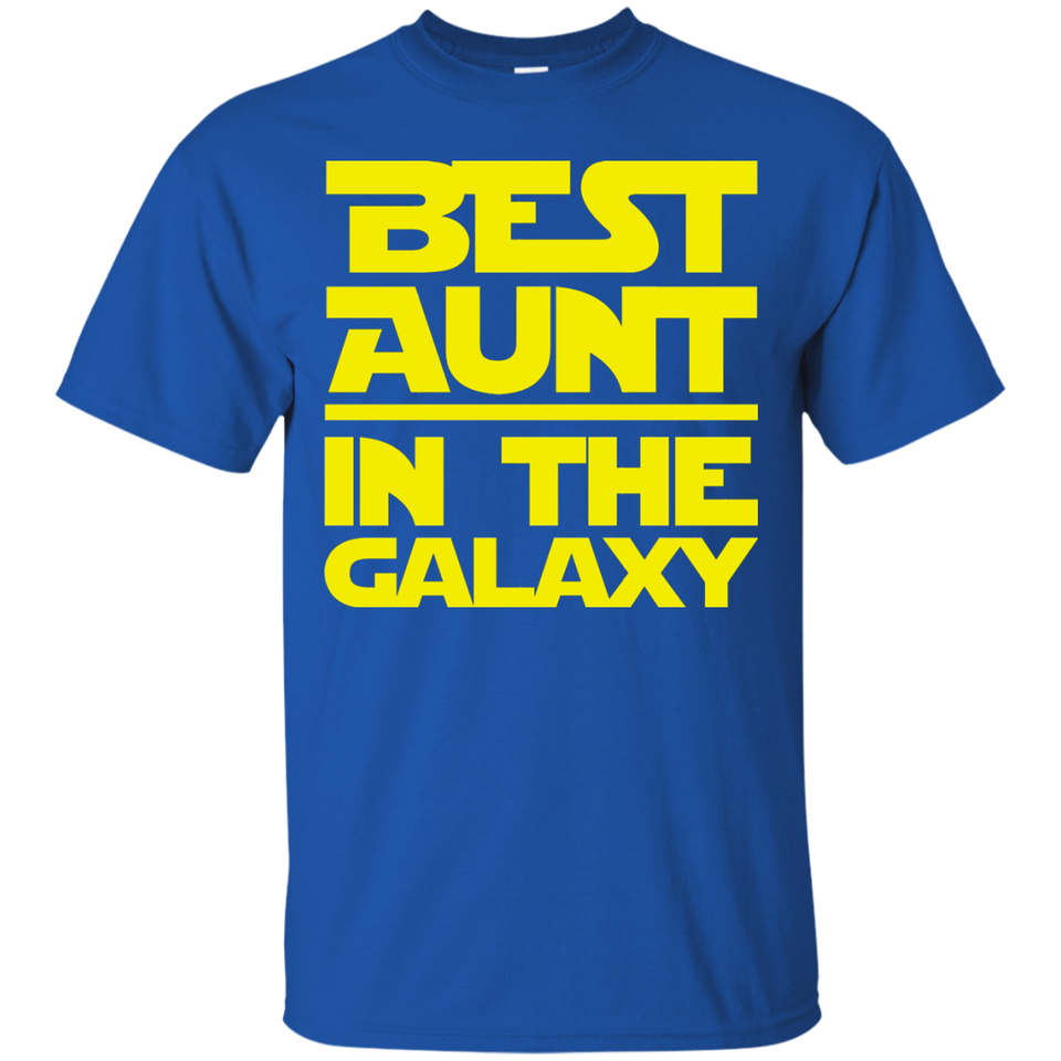 Best Aunt In The Galaxy Shirt
