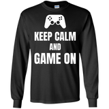 Keep Calm And Game On Video Gaming Shirt Keep Calm And Game On Video Gaming Shirt