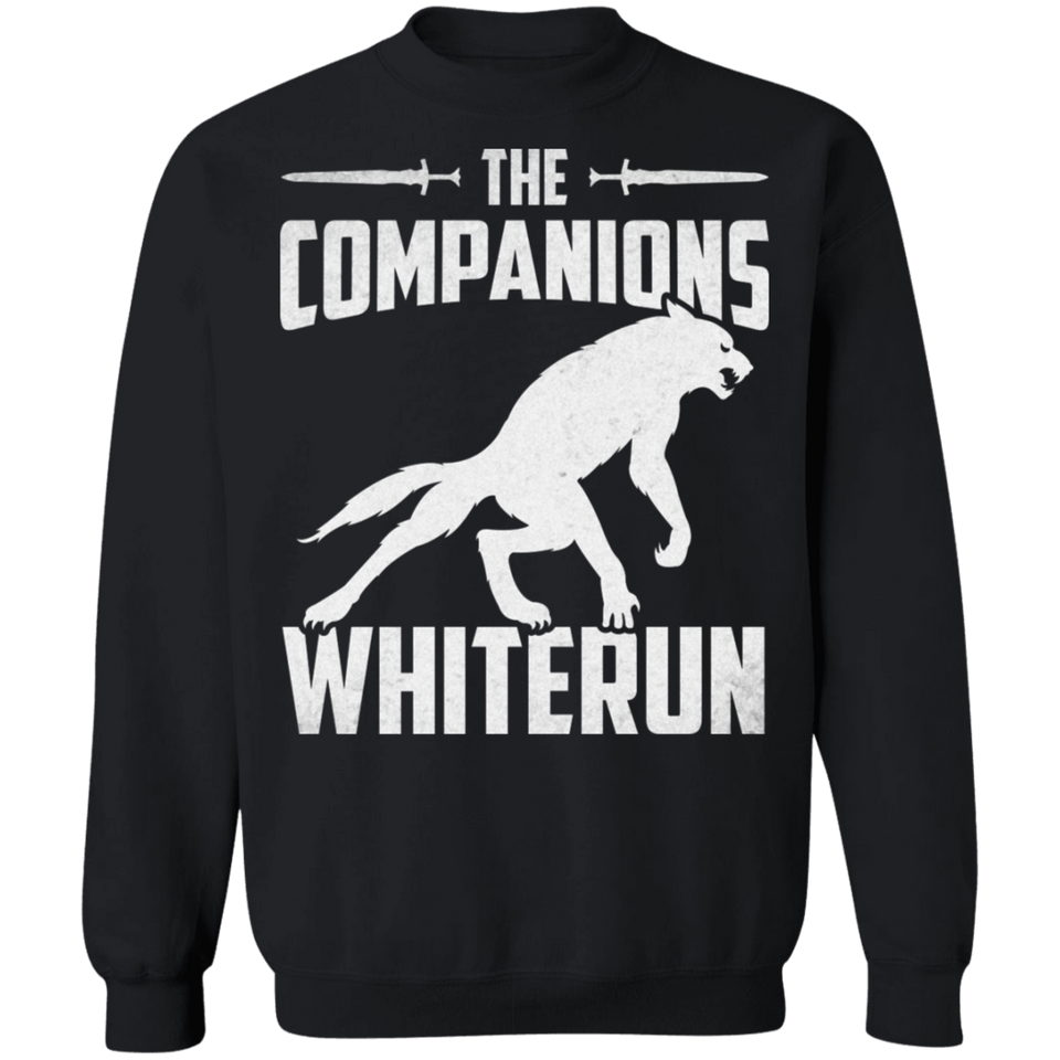 The Companions Whiterun Crewneck Pullover Sweatshirt  8 oz